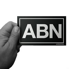 AIRBORNE ABN PARATROOPER ARMY NAVY MARINE CORPS BUMPER STICKER  by Inkfidel