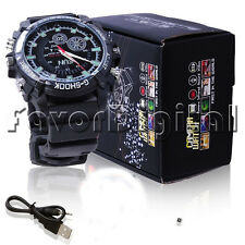 12MP 1080P HD Spy Hidden Camera DVR Watch Cam IR Night Vision Waterproof 16GB CN