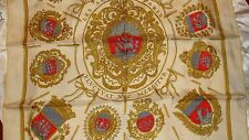 Hermes silk scarf, LES ARMES DE PARIS , by Hugo Grygkar , !st edition 1954