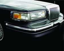 Bumper Chrome Insert Kit for 1995-1997 Lincoln Town Car for Updating Bumpers