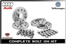 4 PC Audi VolksWagen ( 2-12 MM ) & ( 2-20 MM ) Staggered Wheel Spacers Kit