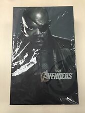 Hot Toys MMS 169 The Avengers Nick Fury Samuel L. Jackson 12 inch Figure NEW