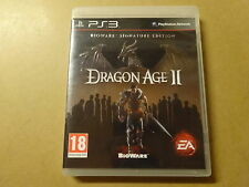 Dragon Age II Bioware Signature Edition Ps3 Perfetta Stampa Italiana con manuale