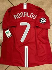 England Manchester United Ronaldo Portugal Uefa CL Real Madrid Shirt Nike Jersey