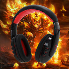 Wireless Bluetooth Gaming Headset Earphone Headphone For PC Cell Phones Tablet