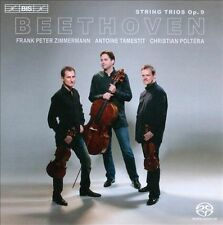 Beethoven: String Trios, Op. 9 Super Audio Hybrid CD (CD, Nov-2011, BIS...