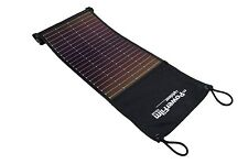 LightSaver USB Roll-up Solar Charger and Battery Bank