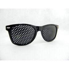 Rasterbrille Ayurveda Brille Sehkorrektur Augentraining Lochbrille Augen breit