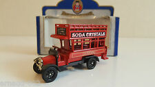 "Oxford Die-cast - Bus Anglais ""Soda Crystals"" Liverpool St   Piccadilly Circus"