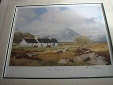 ALAN INGHAM 'THE CROFTER'S LOT' LIMITED EDITION PRINT.  SALE
