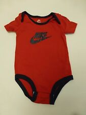 Nike Baby Boys Size 3-6M Red & Blue Bodysuit Great Condition