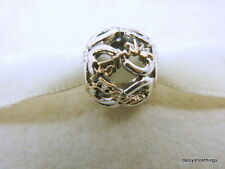 NEW! AUTHENTIC PANDORA CHARM  FAMILY ALWAYS AND FOREVER #791525CZ  HINGED BOX