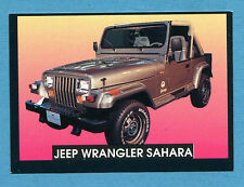 AUTO - Stickline - Figurina-Sticker n. 176 - JEEP WRANGLER SAHARA -New