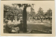 PHOTO ANCIENNE - VINTAGE SNAPSHOT - EFFET FLOU VICHY PLACE PARC - BLURRED