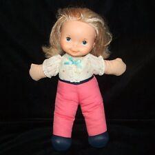 "Fisher Price Lapsitter My Friend MANDY DOLL 13"" Cloth Body Plastic Head 1984"
