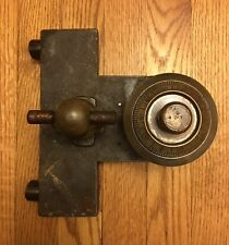 Antique Complete Safe 4# Combination Dial, Bolts, & Handle Triumph Safe & Lock
