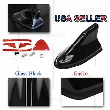 FOR FORD ONLY! AERO SHARK FIN STYLE TOP MOUNT RADIO ANTENNA REPLACEMENT BLACK