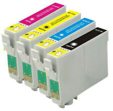 4 INKS FOR EPSON STYLUS C64 C66 C84 C86 CX3600 CX4600