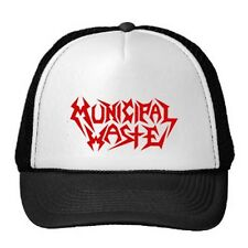MUNICIPAL WASTE TRUCKER CAP / SPEED-THRASH-BLACK-DEATH METAL