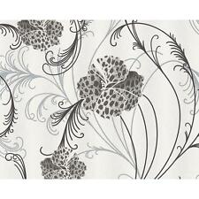 NEW A.S. CREATION FLORAL PATTERN LEOPARD FLOWER MOTIF TEXTURED VINYL WALLPAPER
