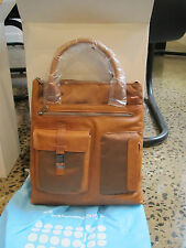 Piquadro Frame Tan organized Vertical Bag/Office Shopping 2 hndle CA1563FR/CU