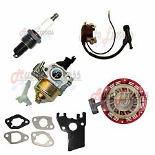 HONDA RECOIL CARBURETOR IGNITION COIL SPARK PLUG GASKET KIT FITS GX160 GX200