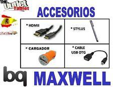 """PACK ACCESORIOS PARA TABLET BQ MAXWELL 7"""" + HDMI +USB +OTG +CARGADOR LITE PLUS"""