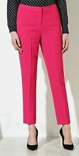 BNWT TROUSERS BY*NEXT*Size ,8L,SMART TAILORED, PINK CREPE TAPER TROUSERS, SUMMER