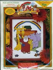 Noah and the Animals - Counted Cross Stitch Kit - Unopened