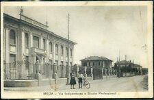 1930 - Meda - Via Indipendenza e Scuole Professionali