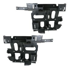Chevrolet Silverado 03-07 Right & Left Pair Set Headlight Headlamp Brackets