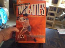 Collection of Cal Ripken Jr. cereal boxes