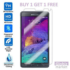 NEW Genuine Tempered Glass Film Screen Protector For Samsung Galaxy Note 4