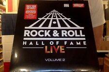 Rock & Roll Hall of Fame Live Volume 2 LP sealed 180 gm orange red marble vinyl