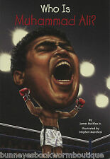 WHO IS MUHAMMAD ALI Kids BOOK Brand NEW Biography CASSIUS CLAY Boxing CHAMPION