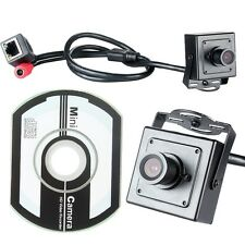 Waterproof 1.0 Megapixel Super Mini HD 720P Hidden IP Camera Pinhole Camera Tool