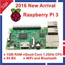 2016 New Arrival In Stock Raspberry Pi 3 Model B 1.2GHz 1GB RAM WiFi & Bluetooth
