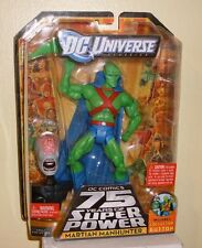 DC Universe 75 Years of Super Power Matty Martian Manhunter with Button 2010