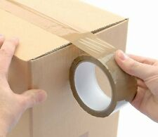 10 rolls of Brown Tape . . . .selotape packing cellotape sellotape packing boxes