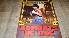 COMBATS DE RUE Zui she xiao zi ! affiche cinema karate kung-fu