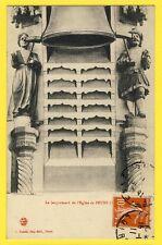 cpa Rare 42 - Le JACQUEMART de l'Église de FEURS (Loire) Automates Cloche