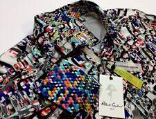 $268 Robert Graham Molten Metal Long Sleeve Shirt. Size L.