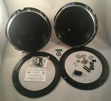 "Land Rover Defender & Series Bearmach Headlight Headlamp Bowl Kit 7"" x 2 Pair"