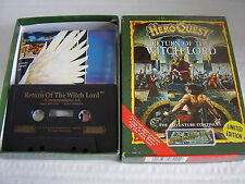 COMMODORE 64 CASSETTE HERO QUEST RETURN OF THE WITCH LORD BOXED
