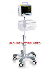 Rolling Roll stand for Infinium Omni II patient monitor (big wheel)