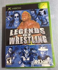 LEGENDS OF WRESTLING XBOX -Rare Find! =NEW,3pics
