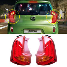 Genuine OEM Parts Trunk LED Tail Lamp Left+Right Set For KIA 2011 - 2016 Picanto