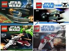 4x LEGO Star Wars The Clone Wars Republik vs Separatisten 8031 30240 8033 30055