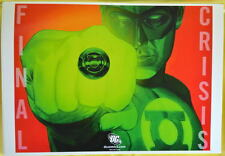 FINAL CRISIS 1 COVER Print 14 x 20 DC GREEN LANTERN