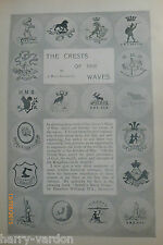 Crests Motifs Ships M Loubet President France Rare Old Antique Articles 1899